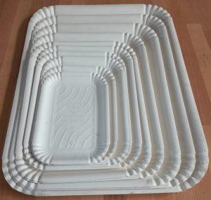 stampi per la termoformatura di vassoi e piatti